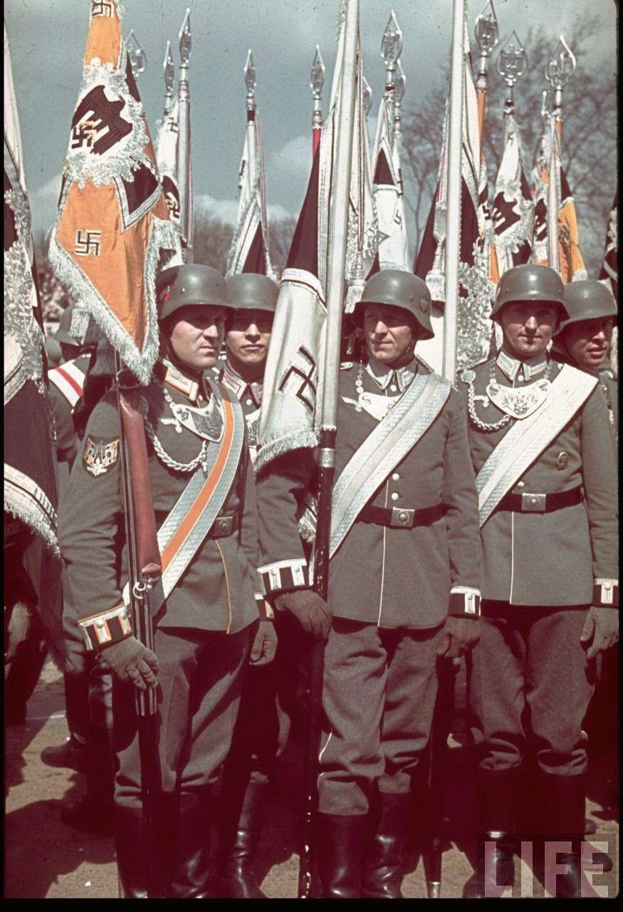 Fahnentrager Deutsche Uniformen Erster Weltkrieg Ns Zeit