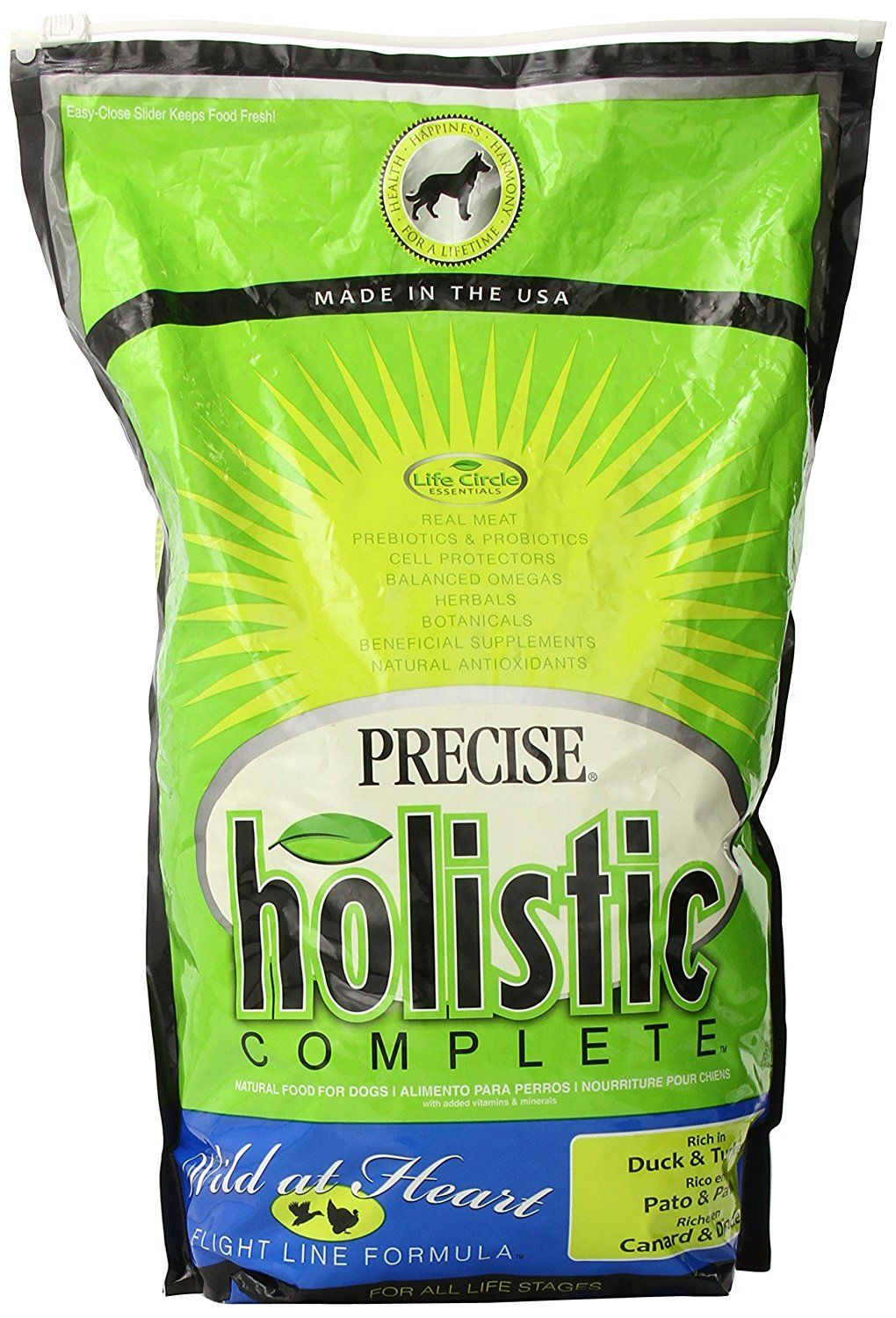 Precise 726534 Holistic Complete Duck and Turkey Food Bag