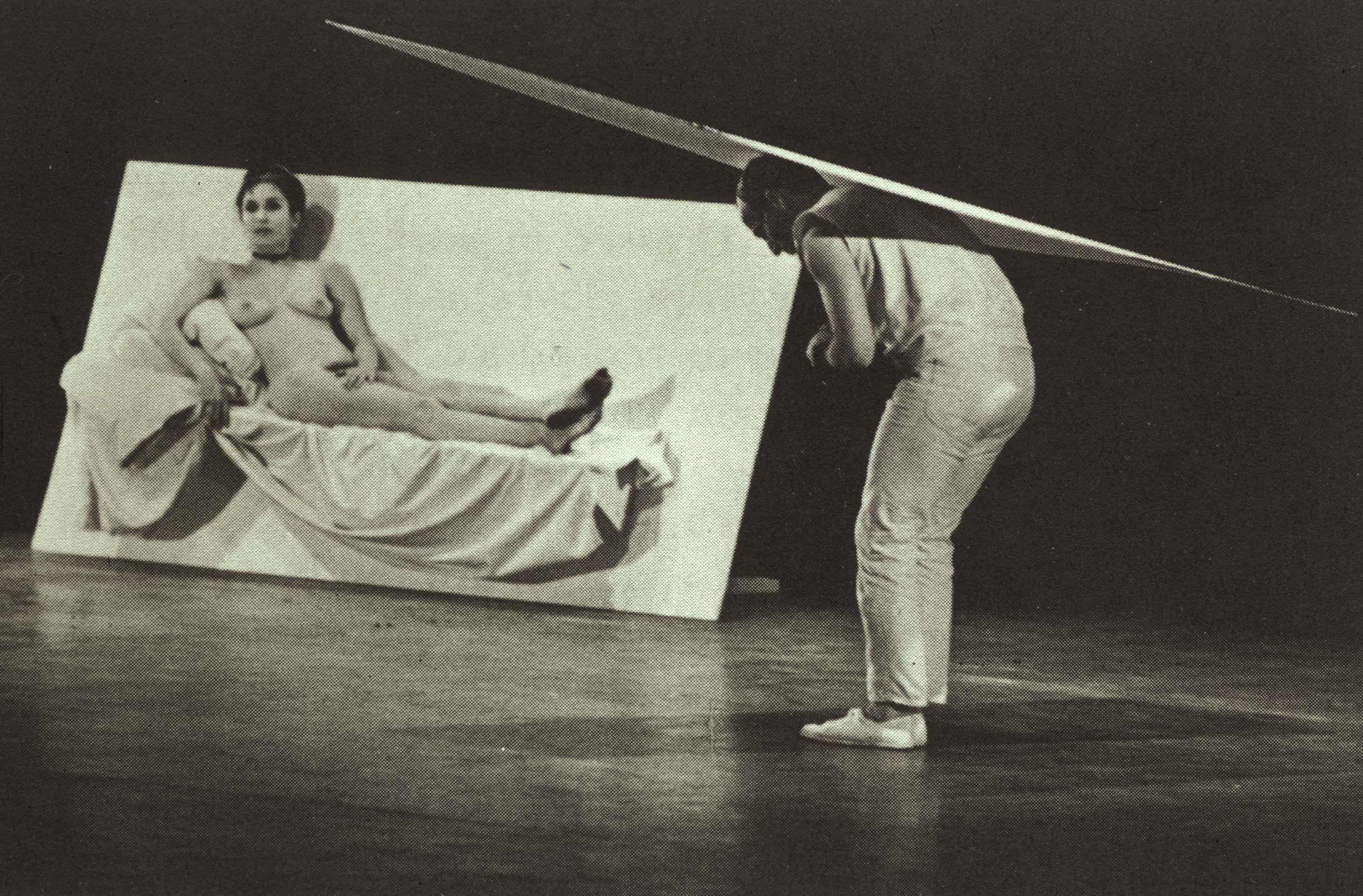 Robert Morris and Carolee Schneemann, Site, 1964