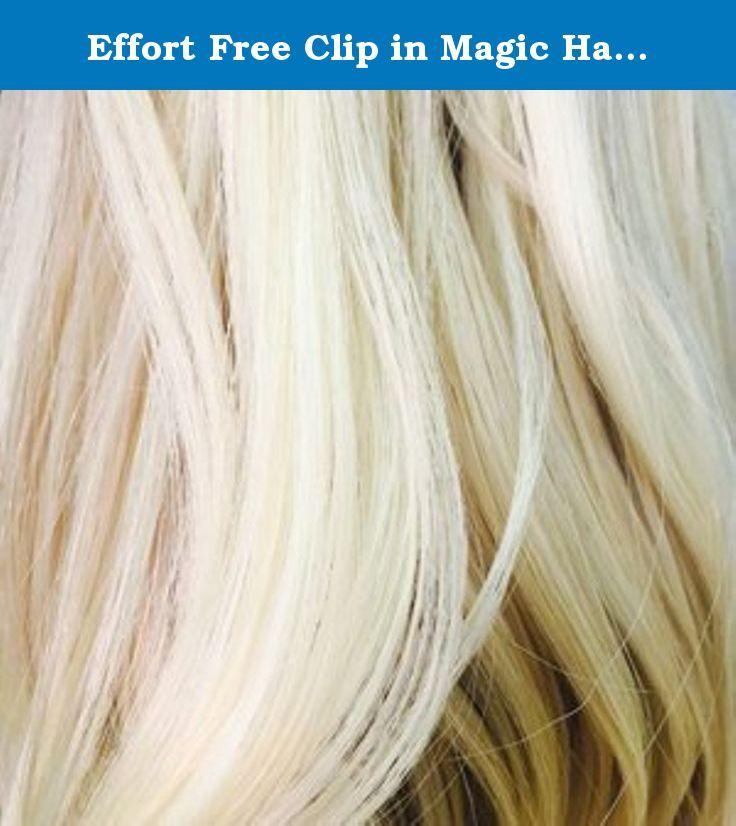 Effort Free Clip In Magic Hair Extension By Pandora Hair Usa 24b