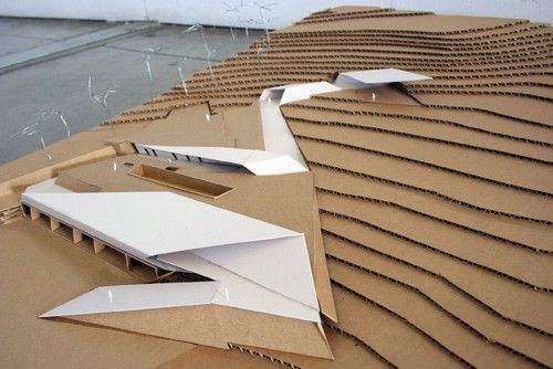 California College of the Arts ARCH MODEL Pinterest
