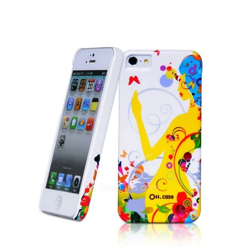 Illusion Pattern Case for iPhone 5 with Hard Slim Cover