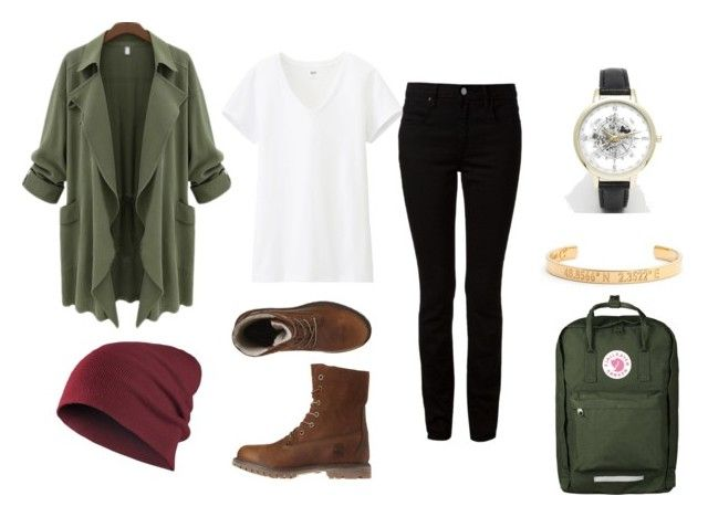 Adventure Awaits... by amandabplease on Polyvore featuring Uniqlo, T By Alexander Wang, Timberland, Coordinates Collection and ASOS