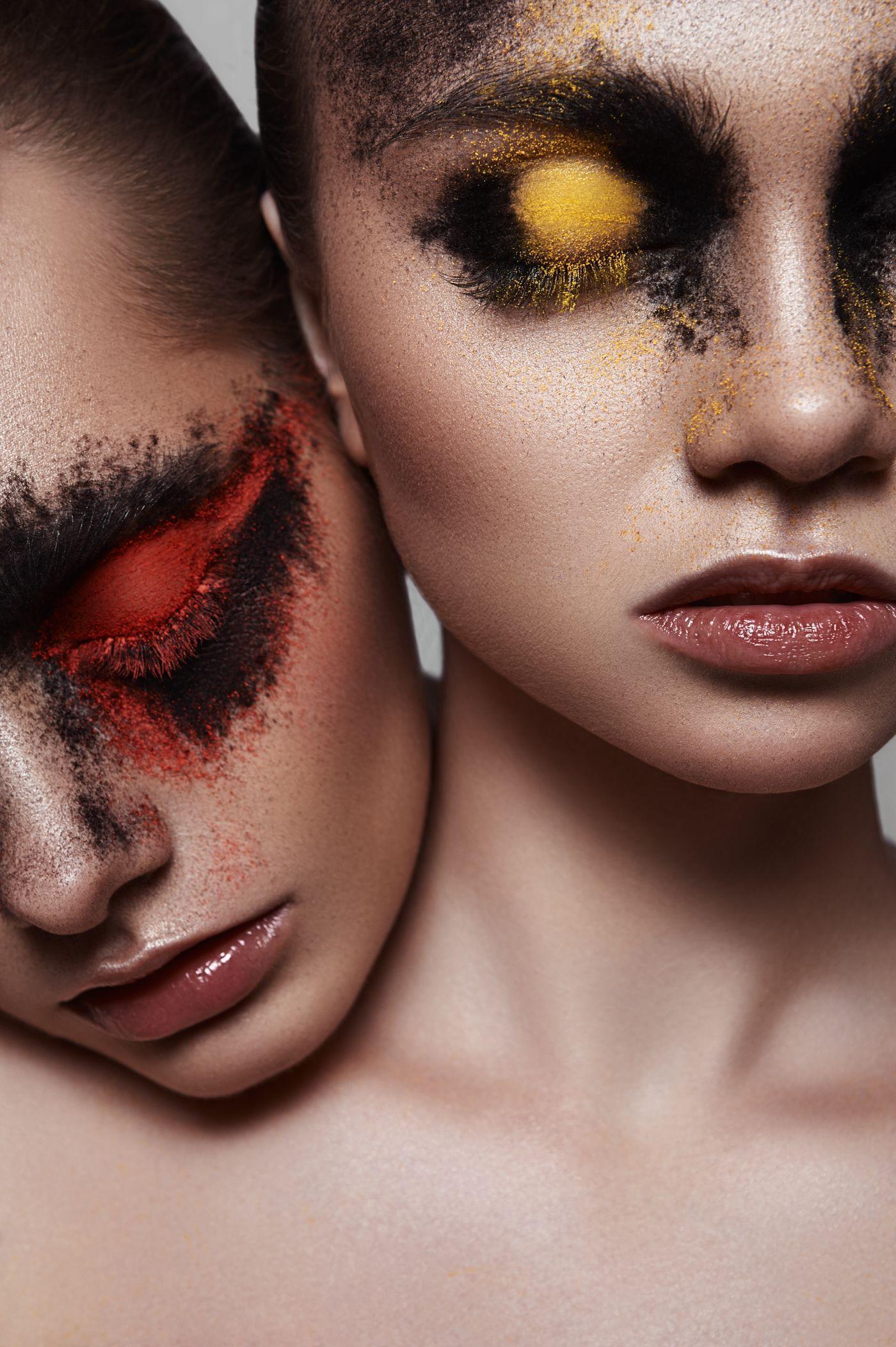 Maria Krylova Mua Beauty Dish Photographie