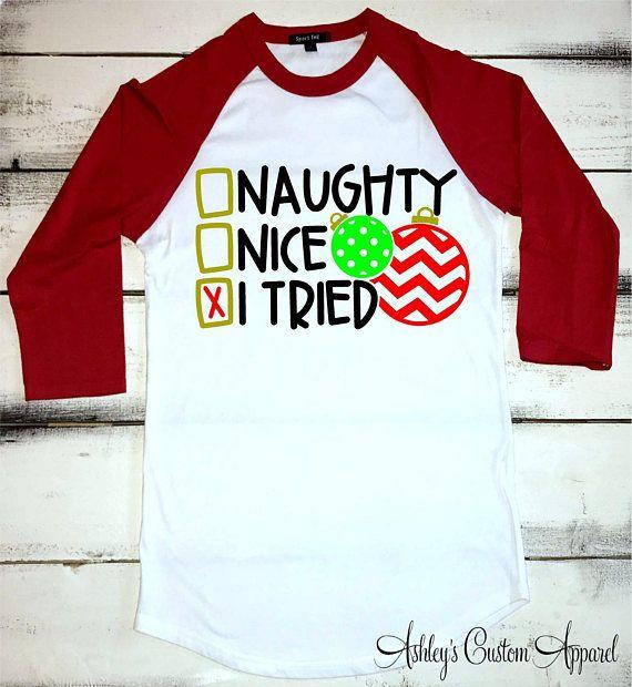 Holiday Xmas Funny Ugly Christmas I Can Get You on The Naughty List Womens Tshirt