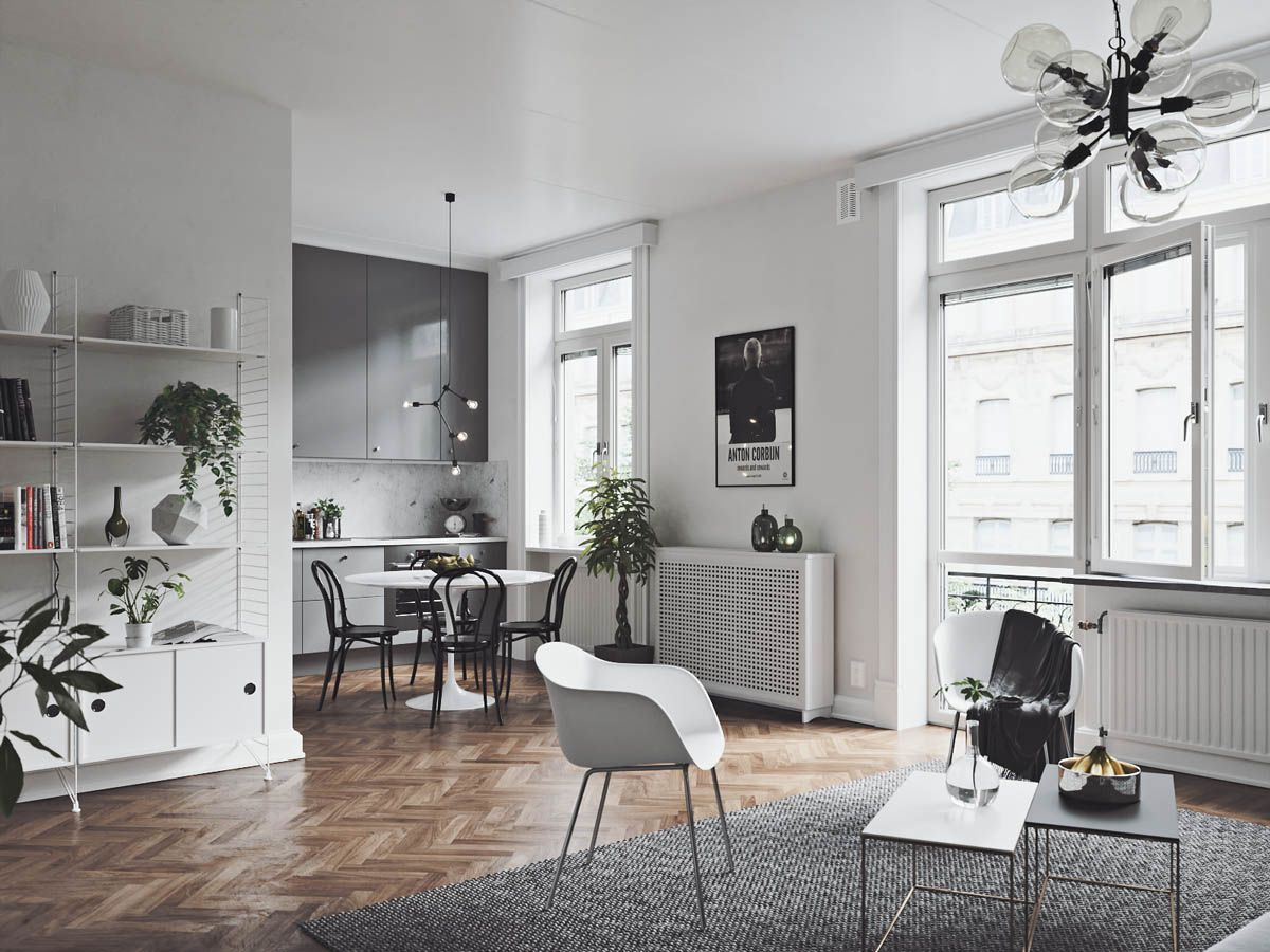 Great 3 Scandinavian Homes With Cozy Dining Rooms