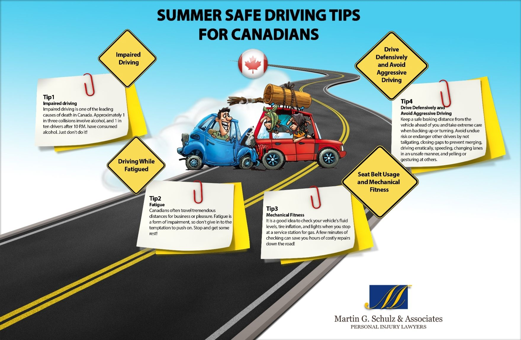 ***Summer Safe Driving Tips *** Please be safe driving