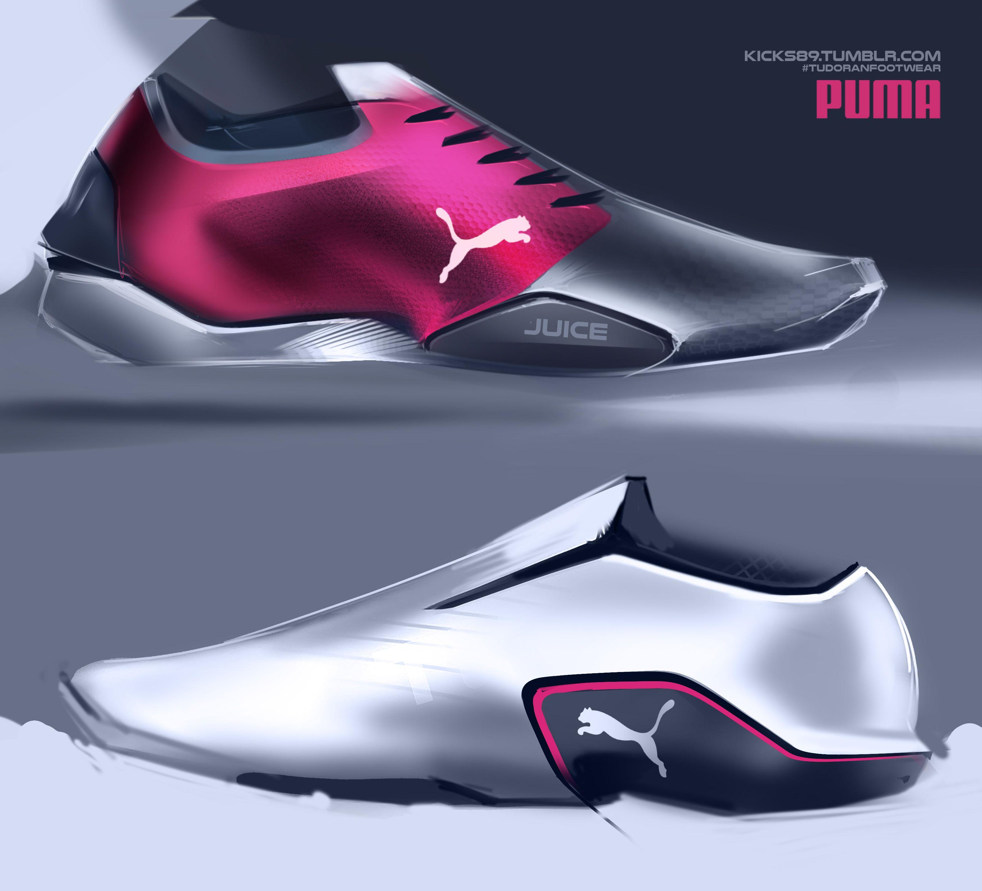 2f714a7e12d Footwear design. Footwear design Pumas ...