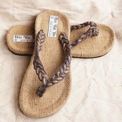Hemp Rope Woven Slippers Sandals Men And Women Lovers Slippers Summer Slippers Slippers Couples By Janicewinner On Et Zapatos De Ganchillo Sandalias Espardenas