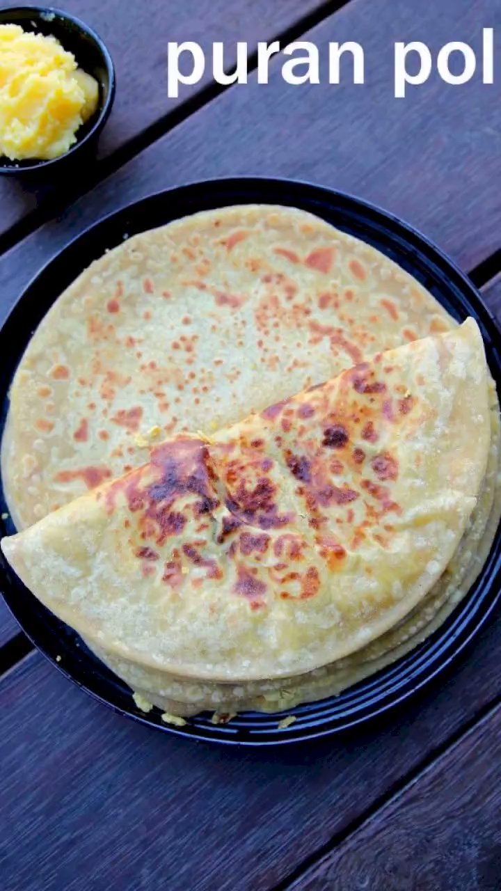 puran poli recipe | how to make puran poli | mahar