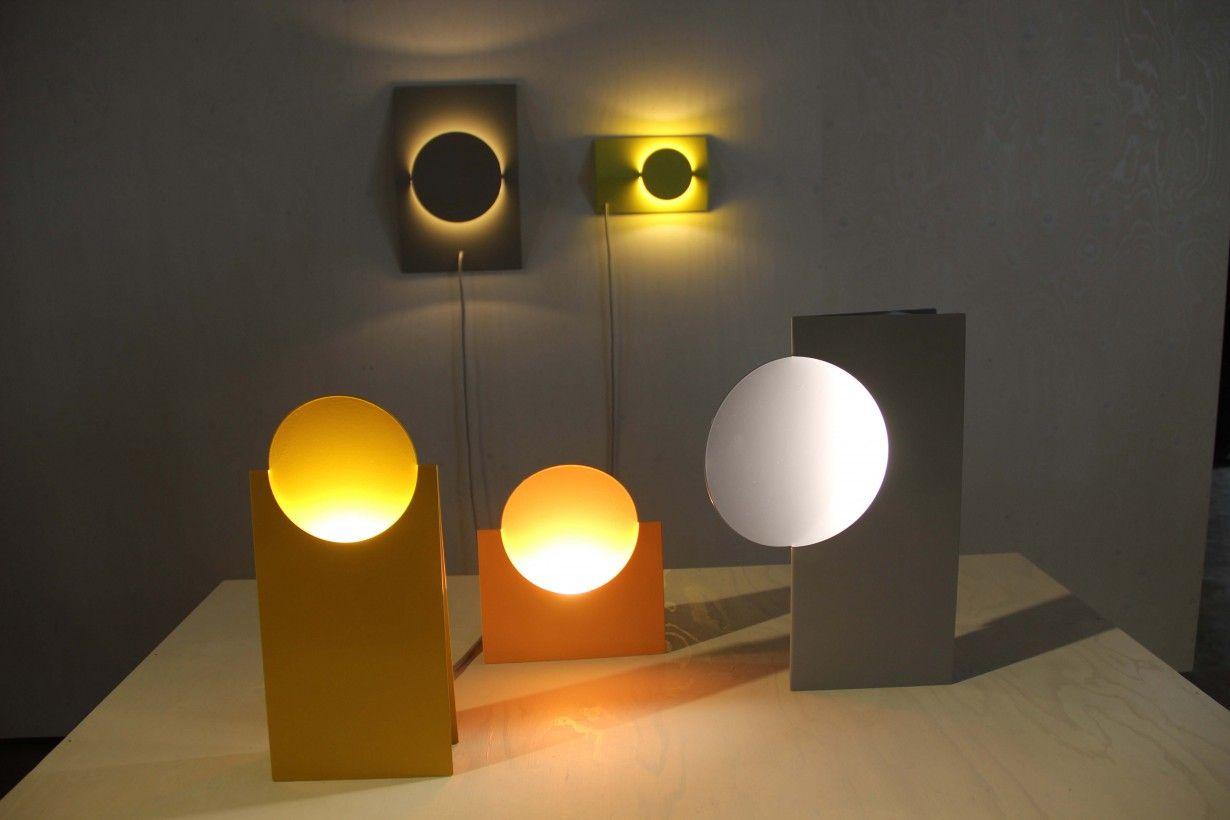 Eclipse light by Sanne Schuurman, graduation project Design Academy Eindhoven #ddw Photo's Gimmii.nl