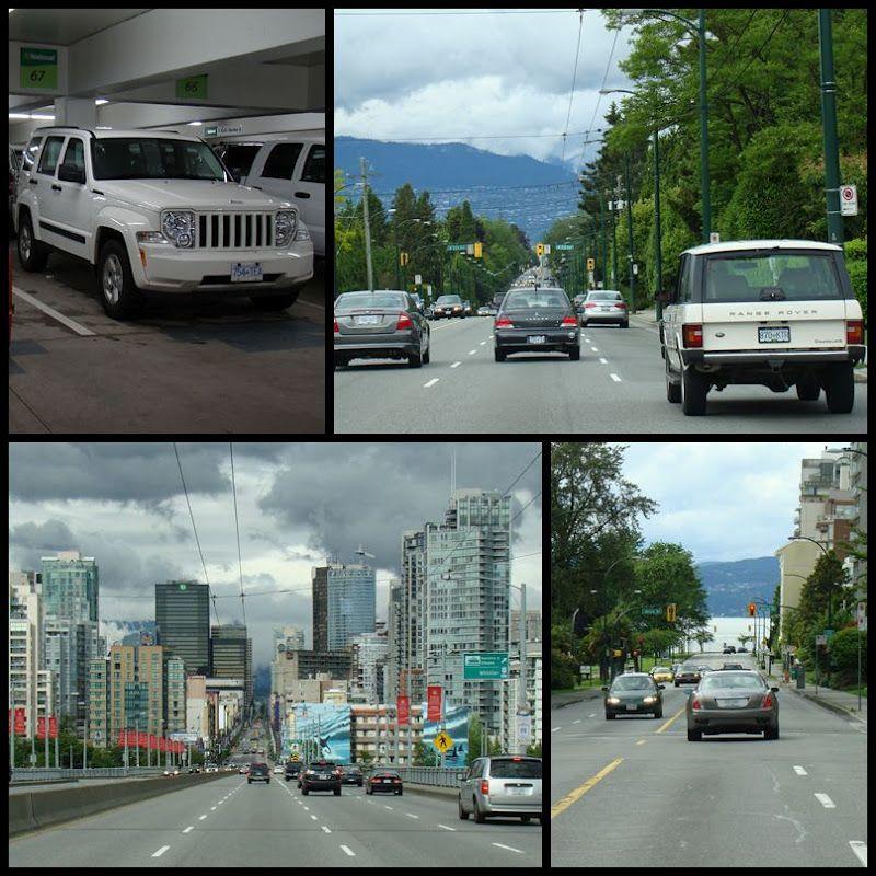 1. Tag Flug von Düsseldorf nach Vancouver (mit Bildern