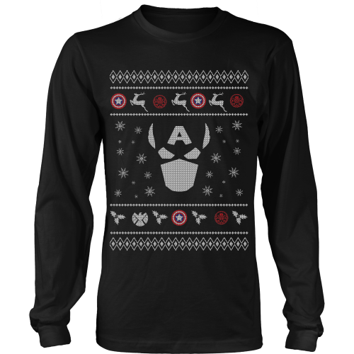 Captain America Ugly Sweater Limtied Edition Style Sweaters