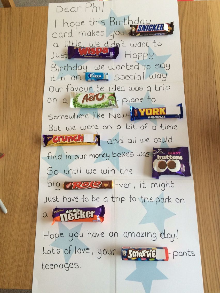 Chocolate Birthday Card Projects To Try Pinterest Cards