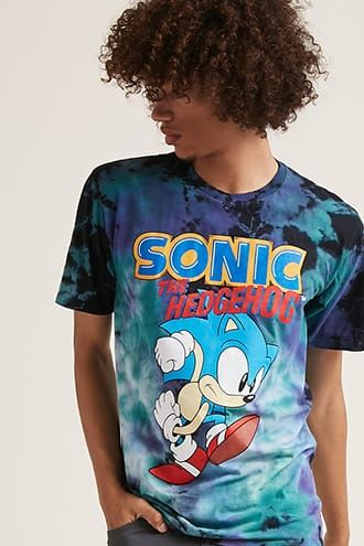 d250924d Sonic The Hedgehog Graphic Tee | Products in 2019 | Forever 21 men ...