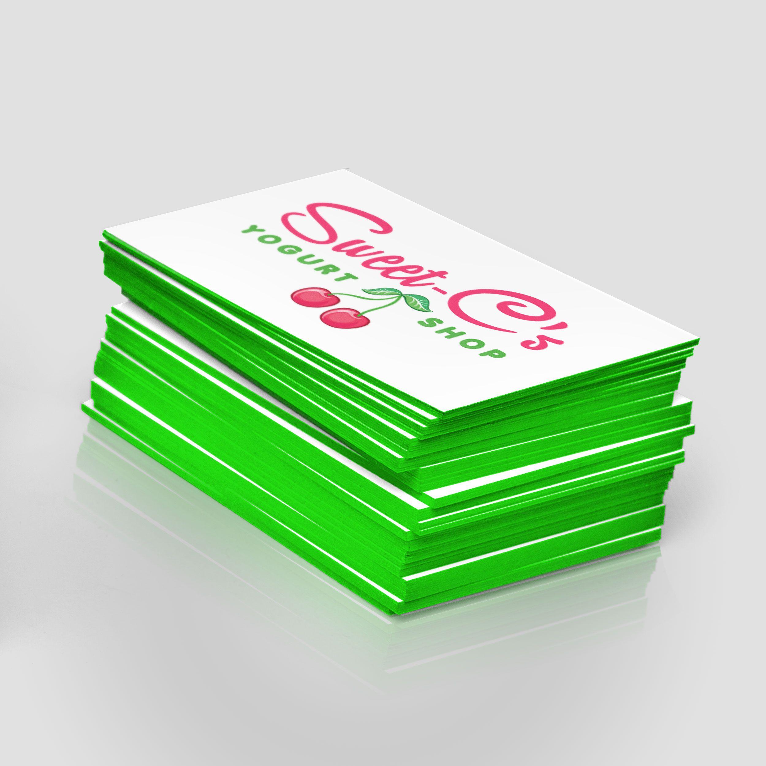 Painted edge business cards jakprints inc layout and portfolio painted edge business cards jakprints inc colourmoves