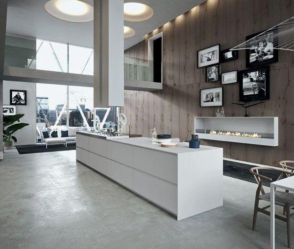 Cuisine avec îlot central  43 idées  inspirations Open kitchens