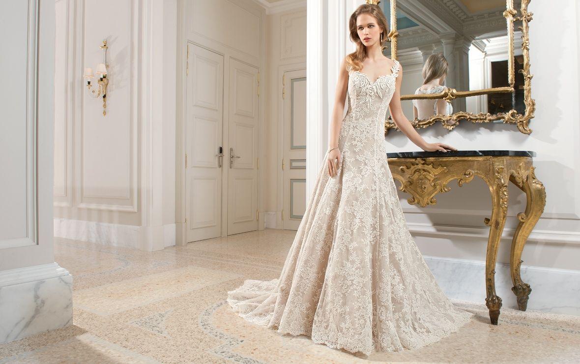 Demetrios couture wedding dress style c demetriosbride