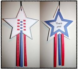 Veterans Day Activities #patriotsdaycraftsforkids Veterans Day activities: Cute patriotic craftivity.  Students can complete a writing prompt on the strips.  Thank you! star option for Veterans Day. #veteransdaycrafts