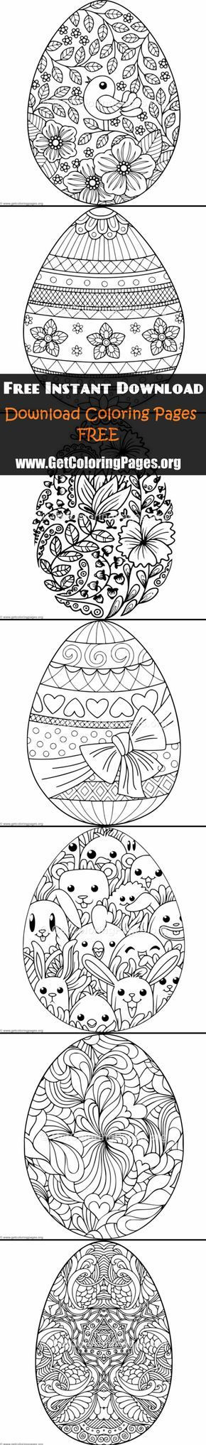 Would make a cute embroidery Easter colouring, Easter