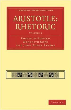 Aristotle: Rhetoric