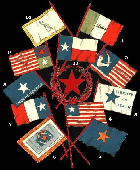Historical Flags Texas Revolution Dodson Flag This Is The First Lone Star Flag Of Texas It Was Created Historical Flags Texas Revolution Lone Star Flag