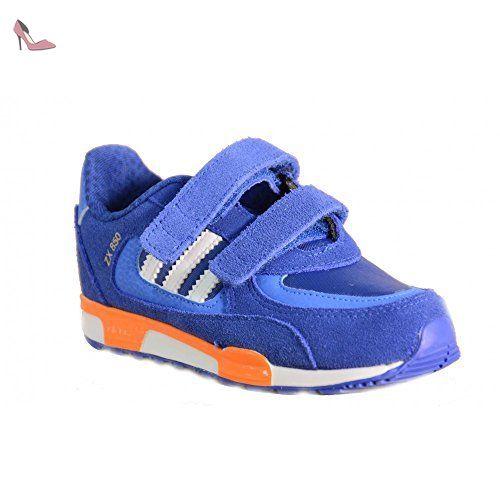 low priced a7beb 0894b ... free shipping adidas adidas zx 850 cf i scarpe sportive bambino blu  pelle strappi m19744 bleu