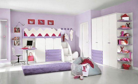 décoration chambre fille mauve déco, ikea, photos | Pour ma fille ...