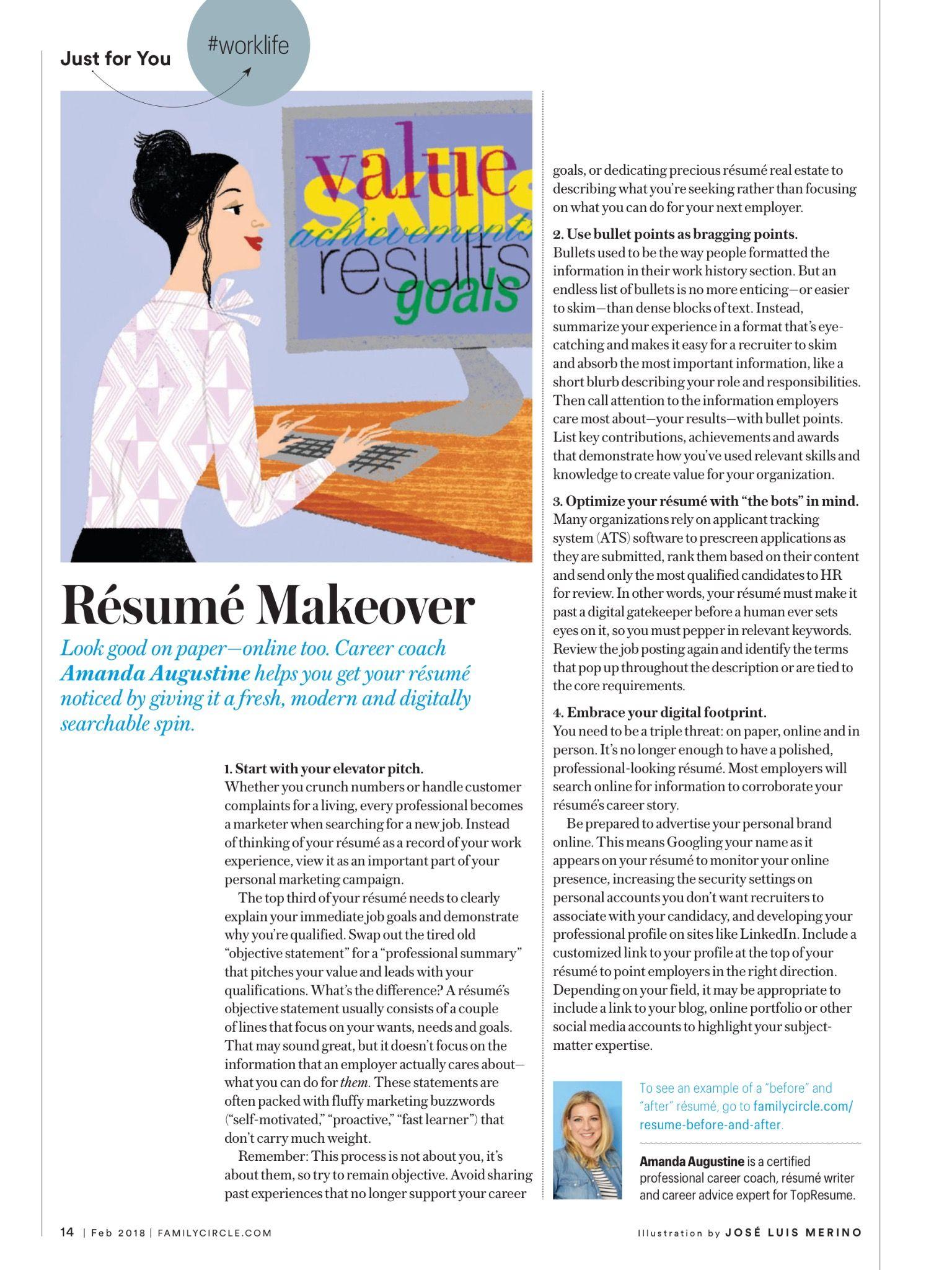 Pin by leann kruger on career resume makeover resume