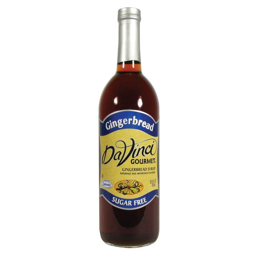 DaVinci Gourmet 750 ML Sugar Free Gingerbread Flavoring