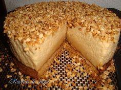 Tarta mousse de turrón Te enseñamos a cocinar recetas fáciles cómo la receta de Tarta mousse de turrón y muchas otras recetas de cocina..