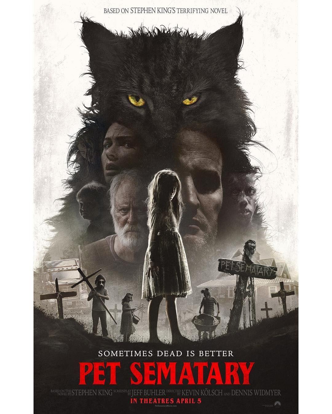 Critica Em 2020 Cemiterio De Animais Filmes De Terror E Pet