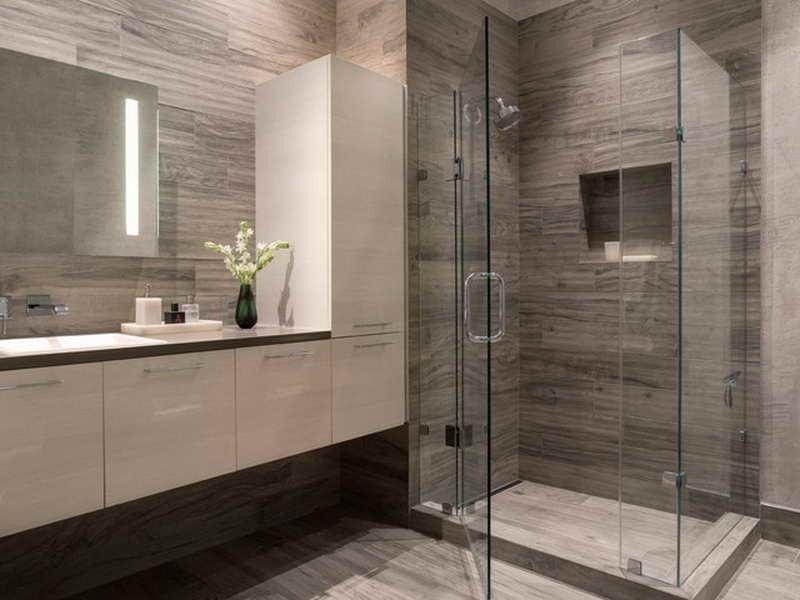 Modern Bathroom Design Grey And White  Банятоалетна  Pinterest Amusing Modern Grey Bathroom Designs Decorating Design