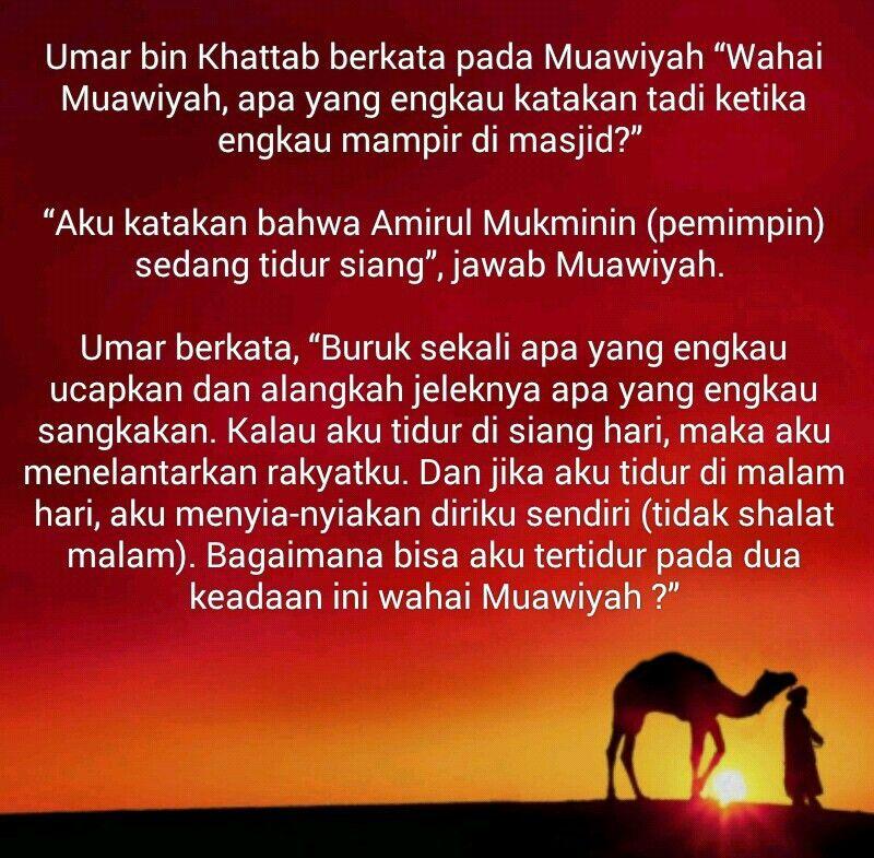 Kutipan Islam Umar Bin Khattab Islam