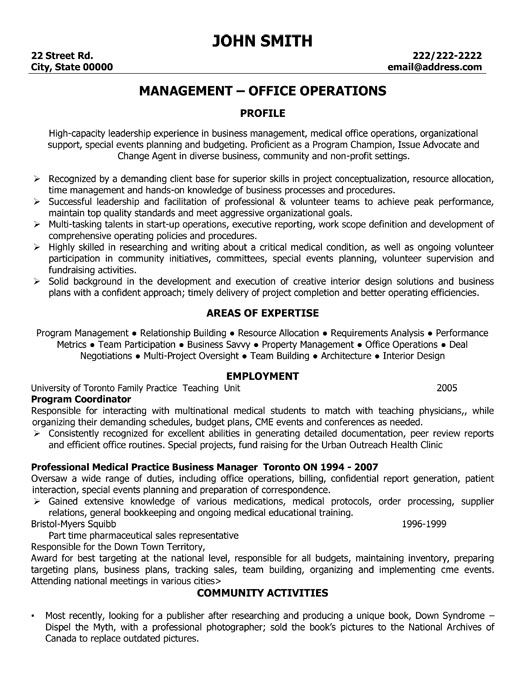 A resume template for a Learning and Development Specialist You - logistics resumes
