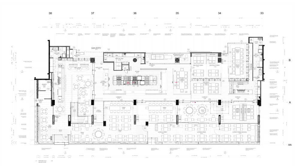 Gallery of the atlantic restaurant blackmilk interior
