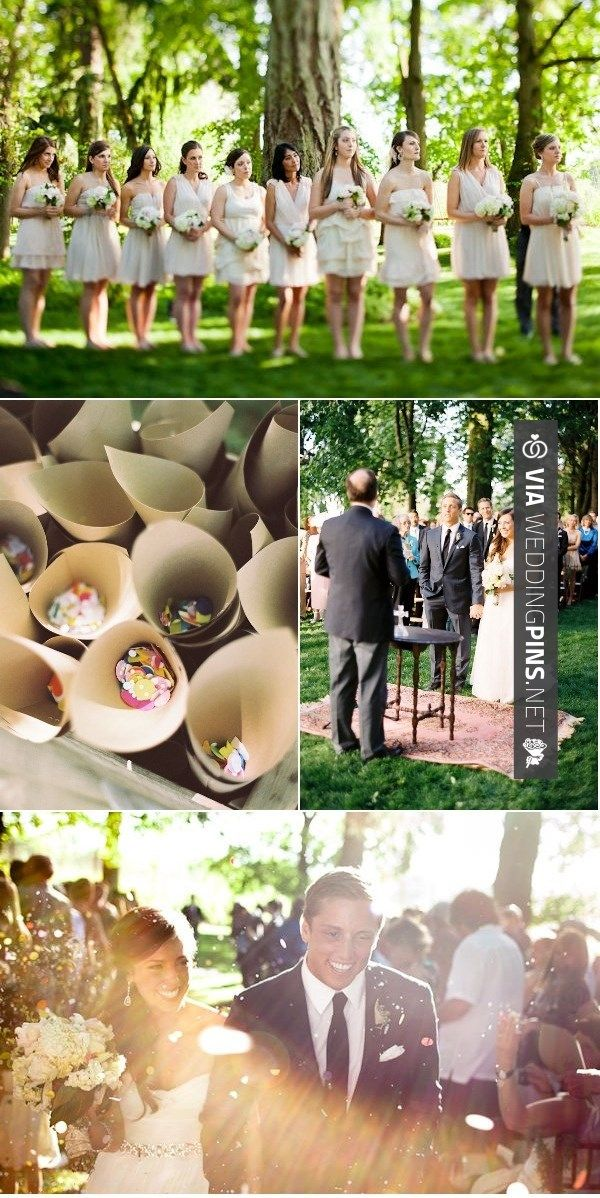 Nice confetti CHECK OUT MORE IDEAS AT WEDDINGPINSNET