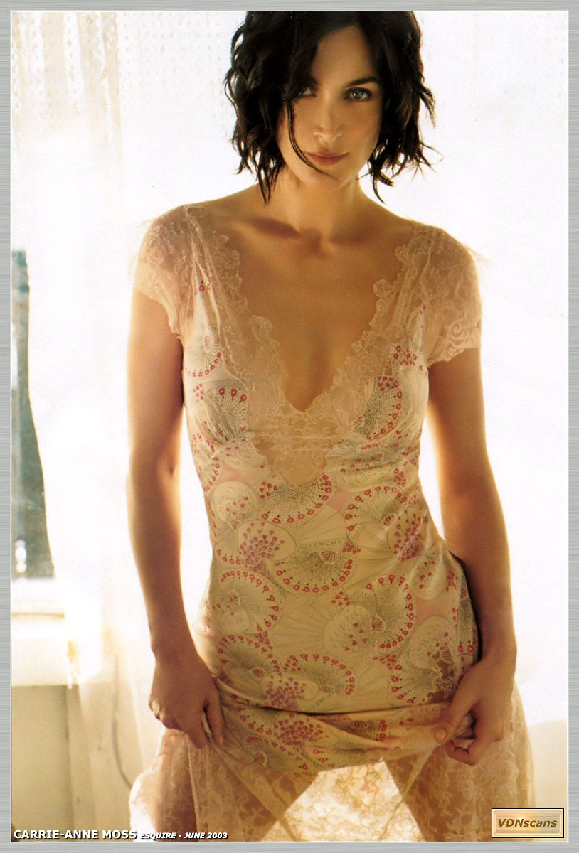 Carrie ann moss nude picture 6