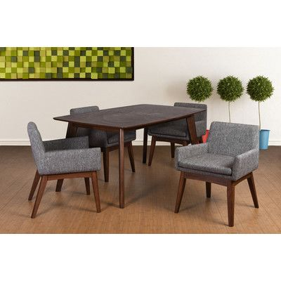 Found it at Wayfair - Woodcroft 5 Piece Dining Set