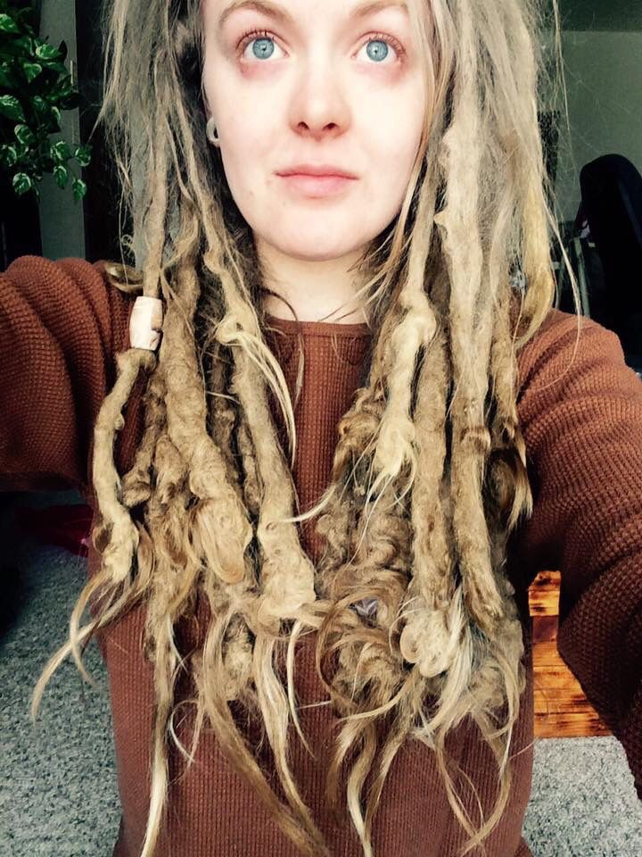 Naturelover From Youtube Go Follow Her White Girl Dreads Beautiful Dreadlocks Freeform Dreads