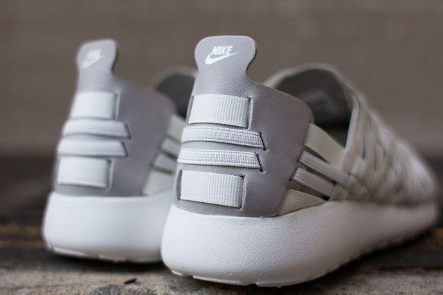 Nike Roshe Run Woven 2.0 (BeigeGrey) Sneaker Freaker