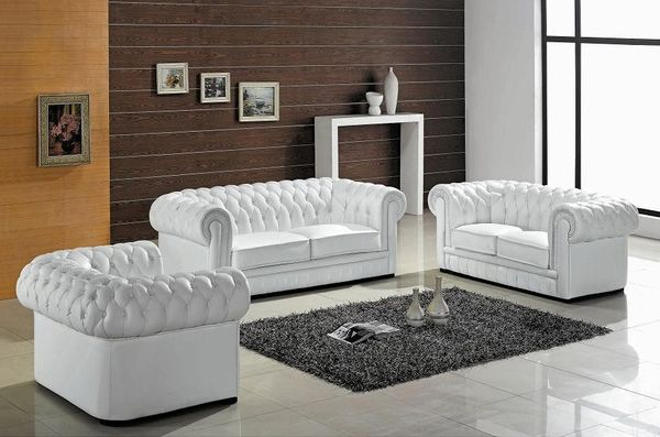 A Modern Furniture Blog From The Creative Team At Inmod Com White Furniture Living Room Modern White Leather Sofa Leather Sofa Set