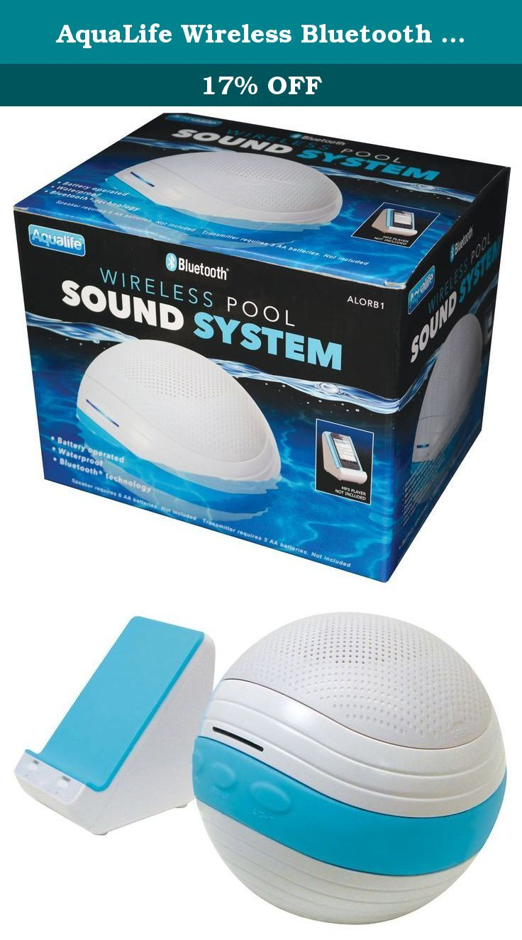 aqualife wireless bluetooth floating sound system relax