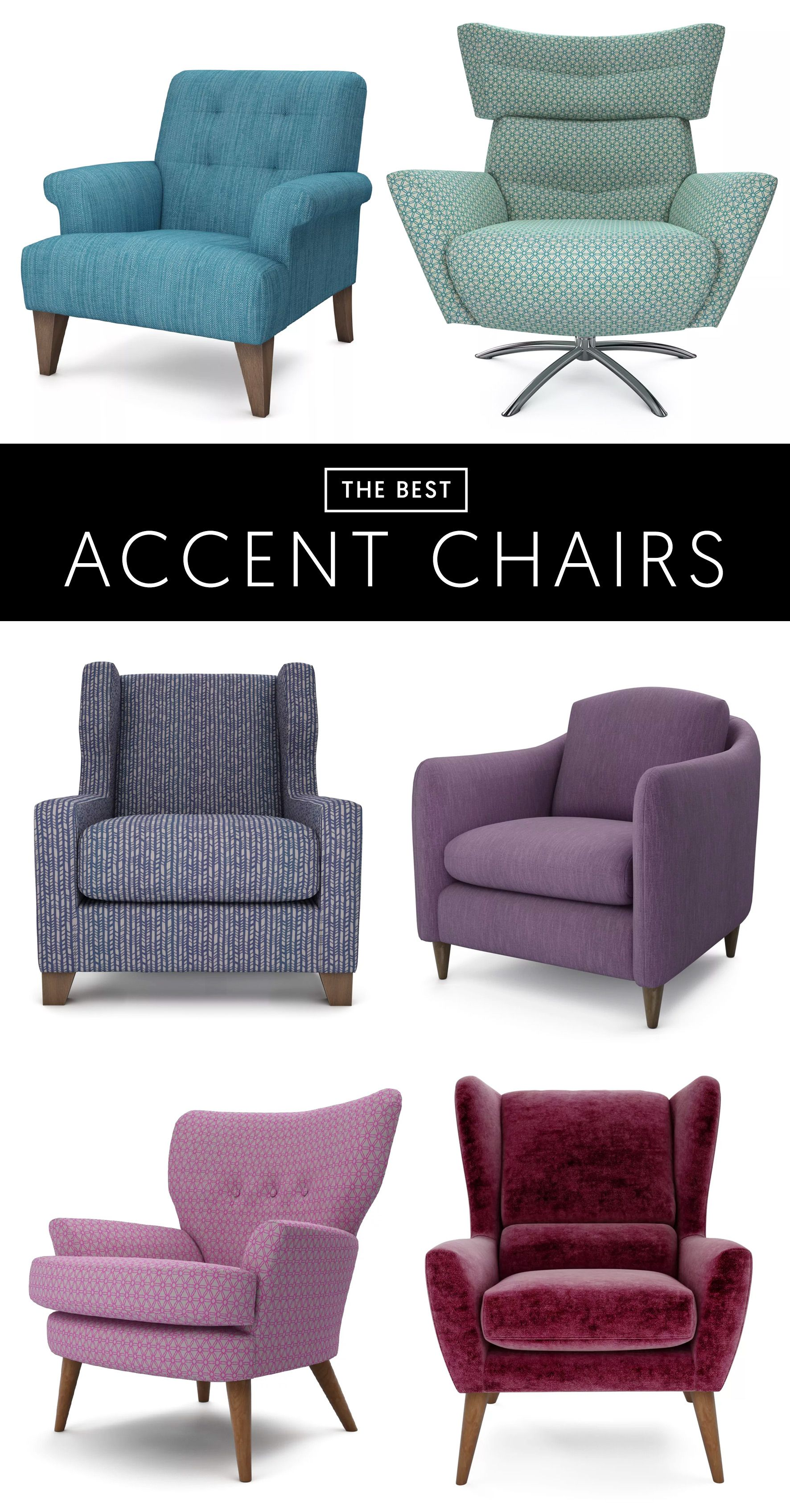 The Best 6 Accent Chairs Make A Statement With A Stylish Accent Chair From The Lounge Co Choose A Fabric That Mat Stylish Accent Chairs Chair Stylish Chairs
