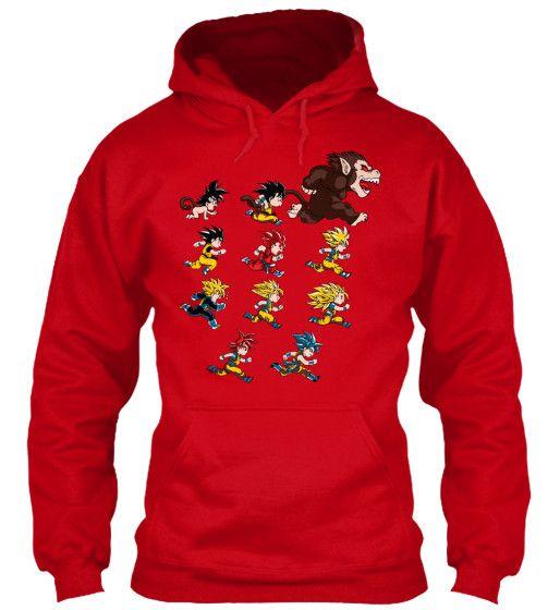 Super Saiyan Shirt - Goku Evolutions