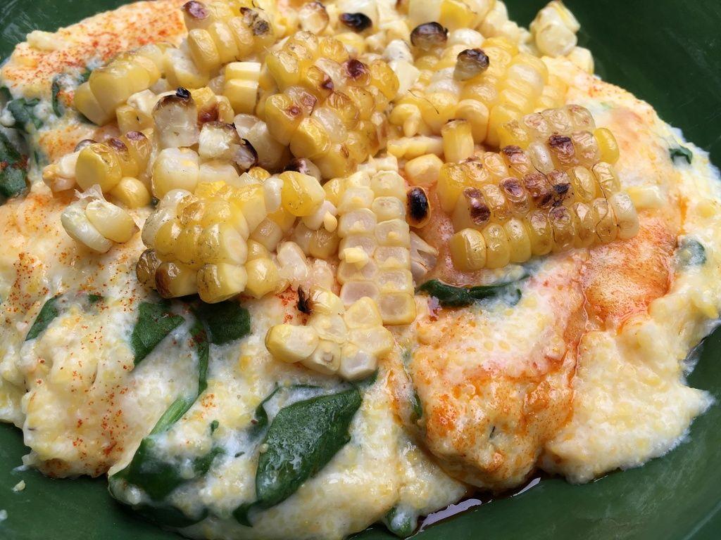 Creamy Polenta with Grilled Corn | Bird's Nest Bites Recipes ...
