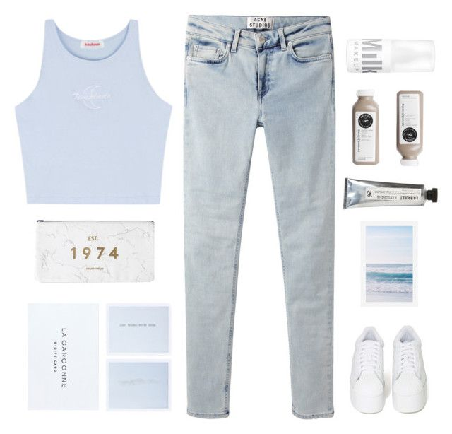 """""""YOU MAKE ME STRONG"""" by expresng ❤ liked on Polyvore featuring Acne Studios, Pottery Barn, Jeffrey Campbell and L:A Bruket"""