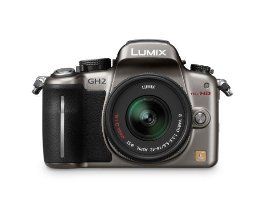Panasonic Lumix DMC-GH2 16.05 MP Live MOS Mirrorless Digital Camera with 3-inch Free-Angle Touch Screen LCD and 14-42mm Hybrid Lens (Silver)