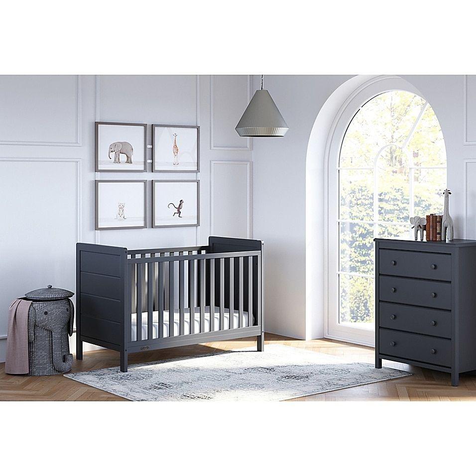 Storkcraft Alpine 4 Drawer Dresser Bed Bath Beyond Convertible Crib Cribs Nursery Furniture Collections [ 956 x 956 Pixel ]