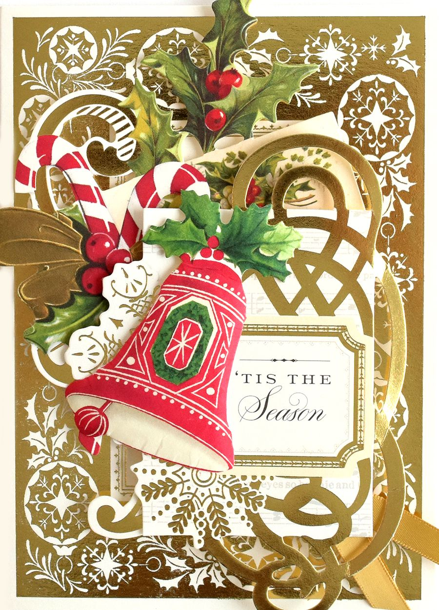 HSN August 11th, 2018- Christmas Collage Card Making Kit | Holiday ...